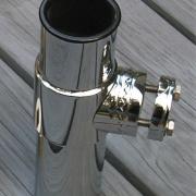 Rail mount option for cannon replica