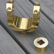 Yoke mount option for cannon replica