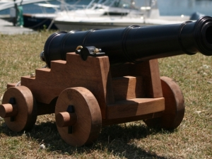 Muller Naval Deck Cannon – 1/3 Scale